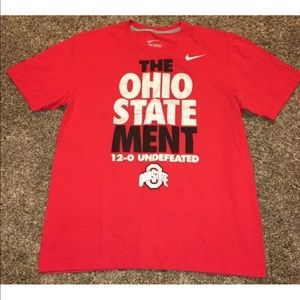 Nike The Ohio State Ment Statement 12-0 Undefeated